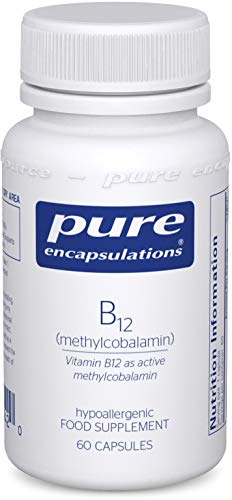 Pure Encapsulations - Vitamin B12 Methylcobalamin 1000 UG - Advanced Vitamin B12 for a Healthy Nervous System - 60 Capsules