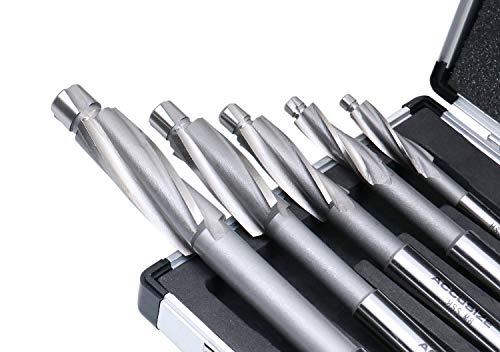 #509S-007M 3 Flute 7 Pcs Premium Metric HSS Solid Capscrew Counterbore Set