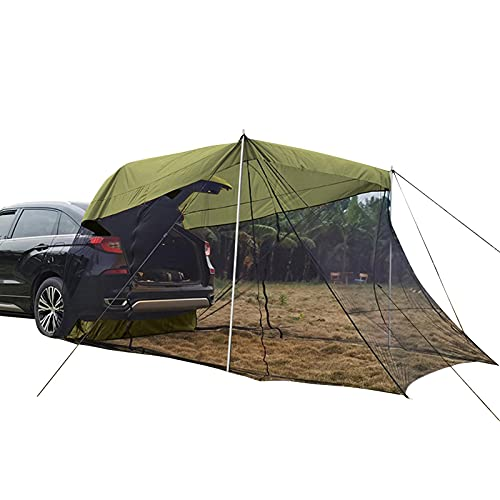 Yumna Vehicle Tent Car Awning Sun Shelter Car Rear Sunshade Awning Shelter SUV Tent Auto Canopy...