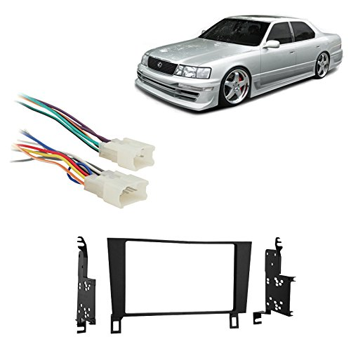 [SCHEMATICS_49CH]  Amazon.com: Compatible with Lexus LS400 1990 1991 1992 Double DIN Stereo  Harness Radio Install Dash Kit Package: Car Electronics | 1990 Lexus Ls400 Wiring |  | Amazon.com