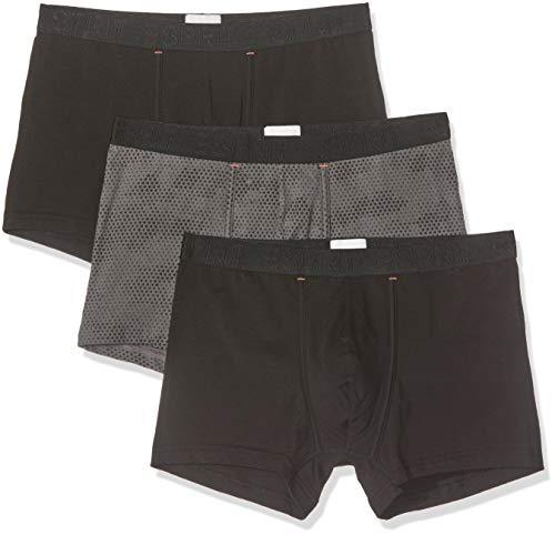 ESPRIT Herren Jamil 3 Boxershorts, Schwarz (Black 001), X-Large (Herstellergröße: XL) (3er Pack)