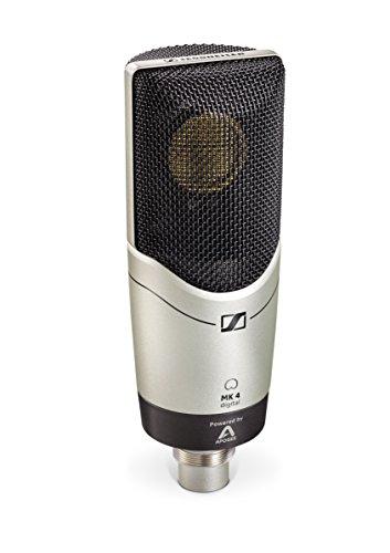 Sennheiser MK 4 Microfono Digitale, Nero