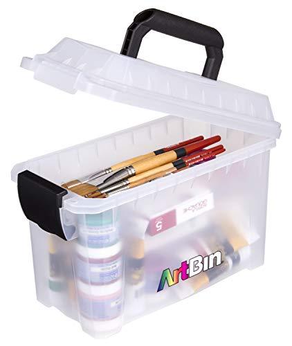 ArtBin 6815AG Mini Sidekick Carrying, Portable Art & Craft Organizer with...