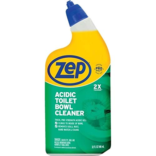 Zep Acidic Toilet Bowl Cleaner, 32 Ounce