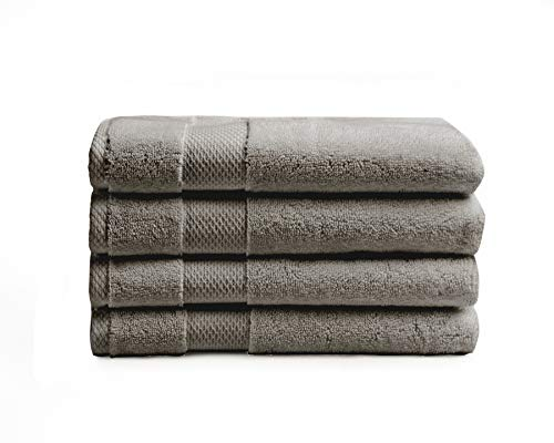 Charisma American Heritage 4 Pack Grey Hand Towel
