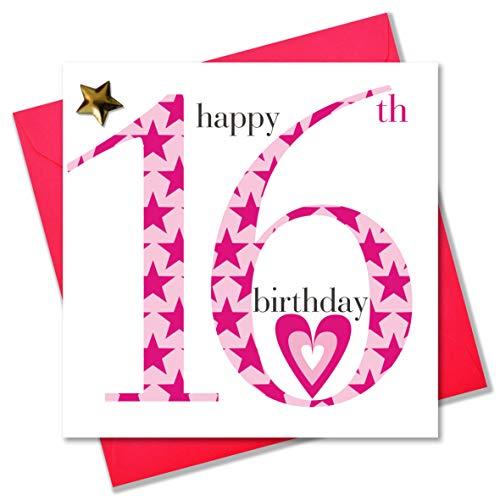Claire Giles Ages Geburtstagskarte, zum 16. Geburtstag,