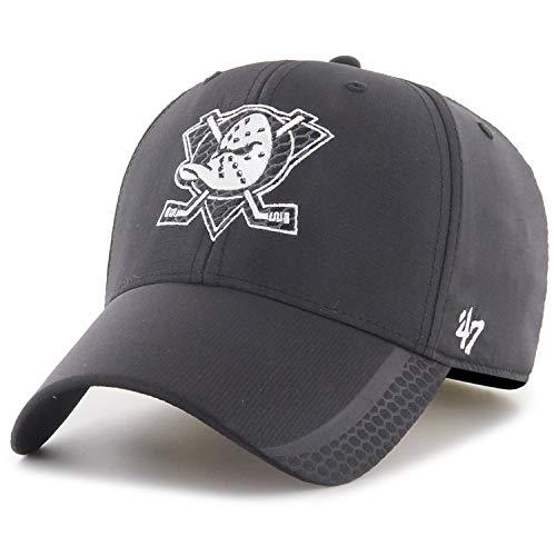 47 Brand Adjustable Cap - Osmosis Anaheim Ducks schwarz