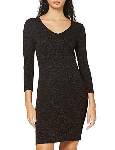 ONLY Damen Kleid, AOP:Leo Mulch Glitter/ONYFANCY 3/4 Glitter Dress JRS, L