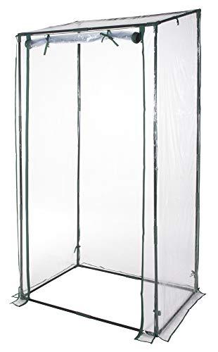 VERDELOOK Serra Senza Ripiani per terrazzo + Telo in PVC, 95x70x190 cm