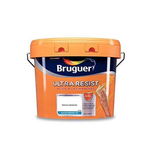 Bruguer ULTRA RESIST Pintura para paredes ultra lavable Blanco Absoluto 10 L