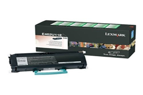 Toner original para LEXMARK E 462Lexmark e462u1100e462u11e, 0E462U11E, E462U11E tóner, e462u21e–PREMIUM de impresoras cartucho–Negro–18.000páginas