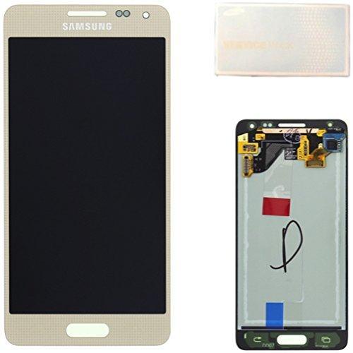 SAMSUNG MEA Front Octa LCD Ersatz-Display Galaxy Alpha SM-G850F Gold