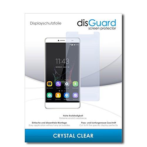 disGuard® Bildschirmschutzfolie [Crystal Clear] kompatibel mit Bluboo Maya Max [2 Stück] Kristallklar, Transparent, Unsichtbar, Extrem Kratzfest, Anti-Fingerabdruck - Panzerglas Folie, Schutzfolie