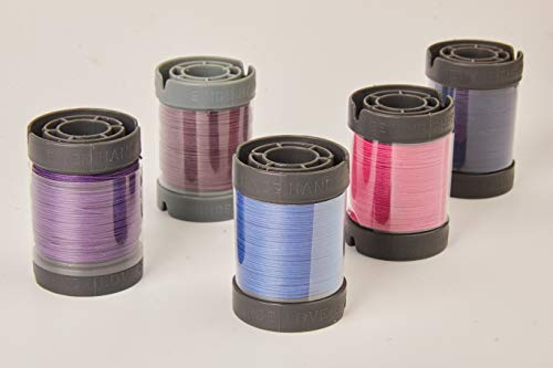Buy Bargain Since Leather Linen Thread for leathercraft M30/0.35MM/150M/Spool (Rose Pink, M30/150M/S...