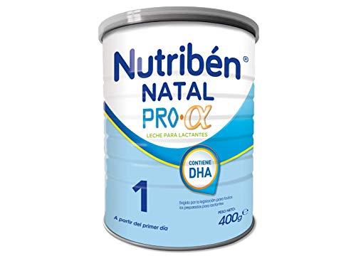 Nutribén Natal ProAlfa 1 Leche en polvo de iniciación para bebés- de 0 a 6 meses- 1 unidad 400g