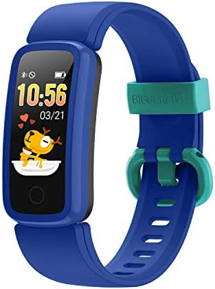 BIGGERFIVE Fitness Tracker Watch for Kids Girls Boys Teens Activity Tracker Pedometer Heart product image