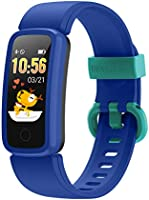 BIGGERFIVE Vigor Pulsera Actividad Inteligente Reloj Inteligente para Niños Niñas Mujer, Impermeable IP68 Deportivo...