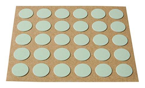 Brinox B77900G Embellecedor cubre-tornillos adhesivo, Gris, Set de 30 Piezas