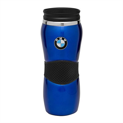 BMW Stainless Steel Gripper Travel Mug - Blue 15oz
