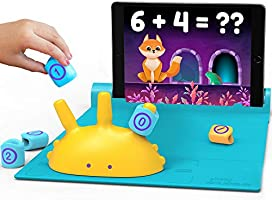 Shifu Plugo Count - Math Game with Stories & Puzzles - Ages 5-10 - STEM Toy   Augmented Reality Based Cool Math Games...