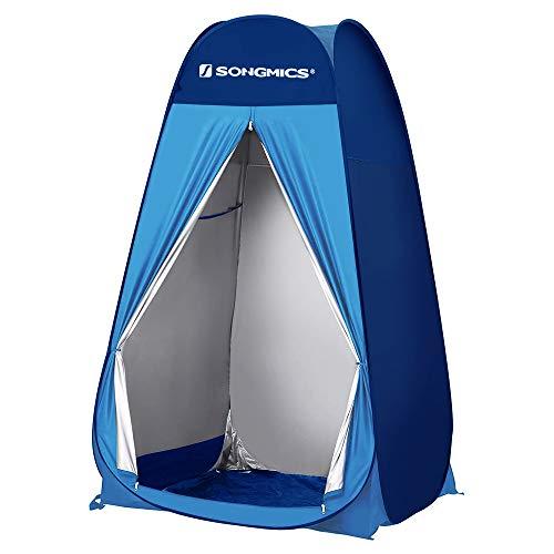 SONGMICS Pop-Up-Zelt, Toilettenzelt, Umkleiderzelt, faltbares Campingzelt,...
