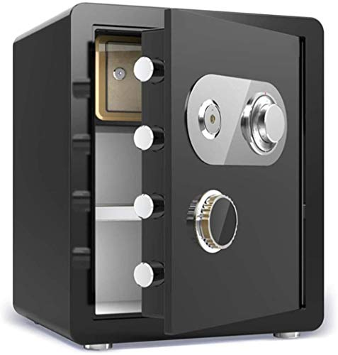 Kluizen Kluis Kleine Elektronische Wachtwoord Sleutel Opbergkast Mechanisch Wachtwoord Brandwerende Elektronische Kluis Safebox (Maat: 38 * 33 * 45)