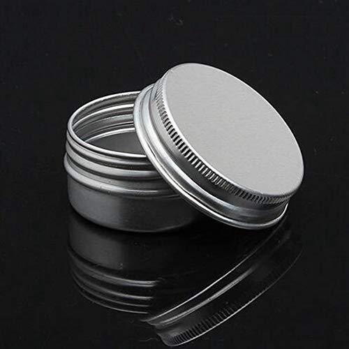 EgBert Leere Nachfüllbare Flaschen Kosmetische Topf Jar Tin Container 15 Ml / 50 Ml / 100 Ml / 150 Ml - 15 Ml