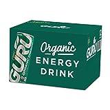 Guru Organic Matcha Low Calorie Energy Drink With Green Tea, 12 Ounce (Pack Of 12), Stevia & Monk...