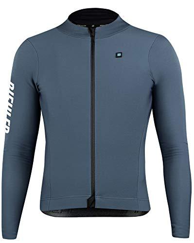 Biehler Herren 0414724.THRDS.XL T-Shirt, Dark Silver, XL