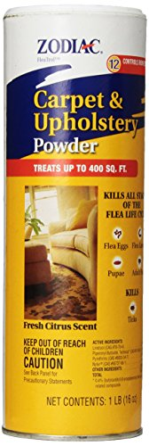 Zodiac Carpet & Upholstery Powder, 16-ounce
