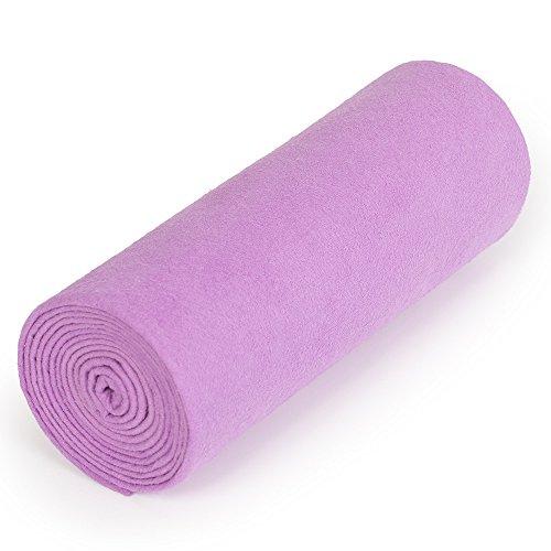 nu:ju® Serviette de Sport/Fitness, Serviette de Voyage en Microfibres Argent ionisé, 1 Moyen lot (70 x 150 cm), Twilight Purple. Légèreté - Absorbant - résistant - Lavable jusqu'à 95