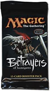 Magic the Gathering MTG Betrayers of Kamigawa Booster Pack (15 Cards/Pack) Out of Print