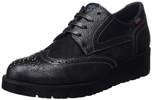 Callaghan Haman, Zapatos de Cordones Derby para Mujer, Gris (Plomo 1), 40...