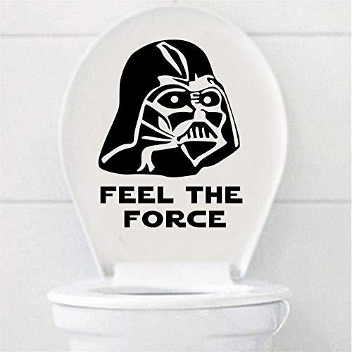 Wandaufkleber Kinderzimmer Wandtattoo Schlafzimmer Star Wars WC Lustige Zitate Badezimmer Aufkleber Sitz Aufkleber Home Decor
