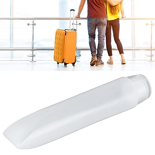 Recipiente de maquillaje, juego de viaje de tubos cosméticos vacíos a prueba de fugas para champú limpiador para gel de ducha para loción corporal(50ml)