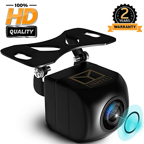 YANEES Car Backup Camera - HD 1080p - Rear View Camera - Waterproof Reverse Auto Back Up Car Parking Camera - High Definition - Best 170 ° Wide View Angel - Fits All Vehicles
