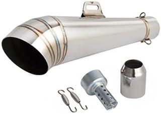 Auspuff Schalldämpfer für Motorrad, 38–51 mm, 125–1000 cc, zum Aufstecken