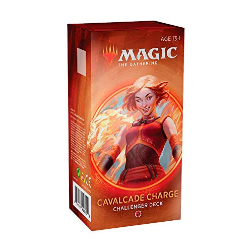 Magic The Gathering - Challenger Decks 2020   Auswahl   ENGLISCH   Set inkl. Kartenspiel, Booster:Rot