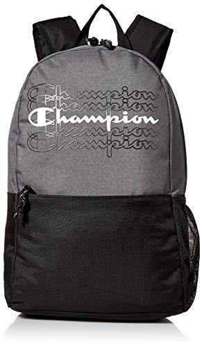 Champion Herren Velocity Backpack Rucksack, grau, Einheitsgröße