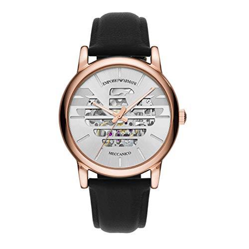 Emporio Armani - Reloj mecánico para hombre, estilo informal, cód. AR60031