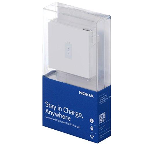 Nokia 02737T2 DC-18 USB-Power Pack weiß