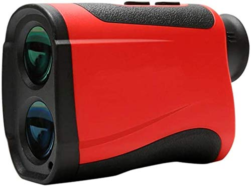 YAYY Golf-afstandsmeter, telescope, laserafstandsmeter, snelheids-, hoogte- en hoekmeting met 1500 mAh 3,7 V Li-ion Micro-USB voor de jacht in de buitenlucht (upgrade)