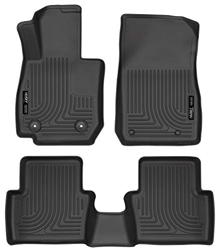 Husky Liners Fits 2016-19 Mazda CX-3 Weatherbeater Front & 2nd Seat Floor Mats