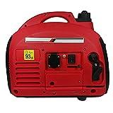 Generador de corriente INVERTER portátil 1,4KW Gasolina Capacidad Nom. 1,8KVA Max. 2,0KVA Bajo...