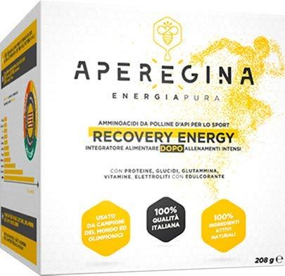 RECOVERY ENERGY è integratore per sportivi con amminoacidi, proteine e carboidrati derivanti esclusivamente da POLLINE D'API MICRONIZZATO AD ELEVATA BIODISPONIBILITÀ