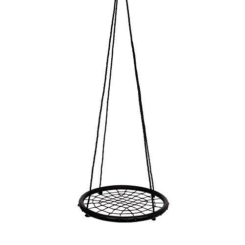 small foot 4915 Balançoire en filet pour enfants et adultes, pour une expérience amusante, diamètre env. 61 cm