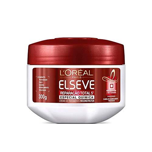 Creme de Tratamento Reparação Total 5 Química Elseve L'Oréal Paris 300 ml, L'Oréal Paris