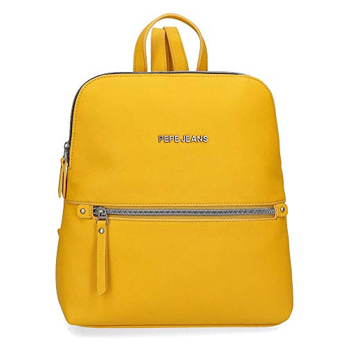 Pepe Jeans 7042224, Mochila Casual Mujeres, Ocre, Media