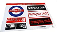 Marquee Club 6 sticker sheets/Type-A