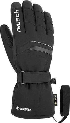 Reusch Manni GTX Handschuh, Black/White, 7.5